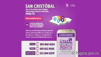 Puntos de atención y prevención de violencias en San Cristóbal | Bogota.gov.co - Alcaldía de Bogotá