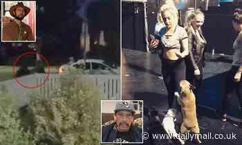 'Help, I've been shot!' Harrowing new footage of Lady Gaga's dog walker being shot