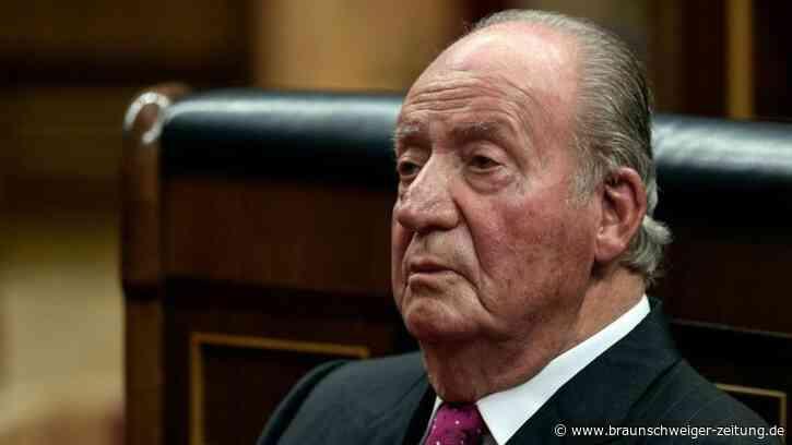 Spaniens Ex-König Juan Carlos begleicht Millionen-Steuerschuld