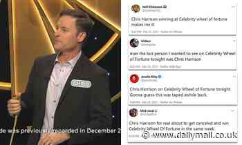 ABC viewers upset that Chris Harrison appeared  on Celebrity Wheel of Fortune
