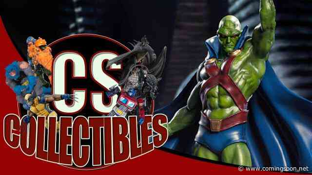 CS Collectibles: Martian Manhunter, Ahsoka, Darth Maul & More!