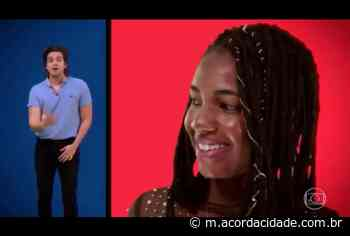Acorda Cidade | Dilton Coutinho | Estudante quilombola de Campo Formoso é homenageada pelo cantor Luan Santana no Caldeirão do Huck - Acorda Cidade