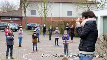 Wasbütteler Schüler nehmen an Flashmob teil
