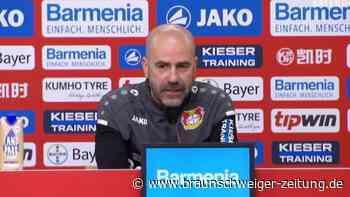 """Bosz nimmt Trainerdiskussion gelassen: """"Druck ist immer da"""""""