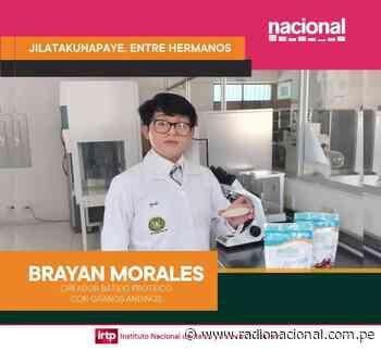 Desde Tarma, niño que lanzó batido proteico a base de granos andinos - Radio Nacional del Perú