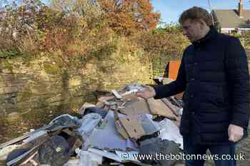 MP Mark Logan condemns flytipping in Bolton