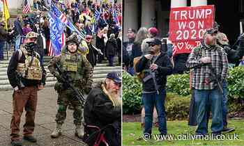 Washington state Senate votes to ban open carry of firearms at Capitol and sanctioned protests