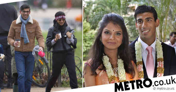Rishi Sunak's wealthy wife 'claimed up to £100,000 from furlough' to pay staff