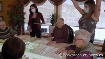 Interactive projector to helps entertain, stimulate Warman care home residents - CTV News Saskatoon