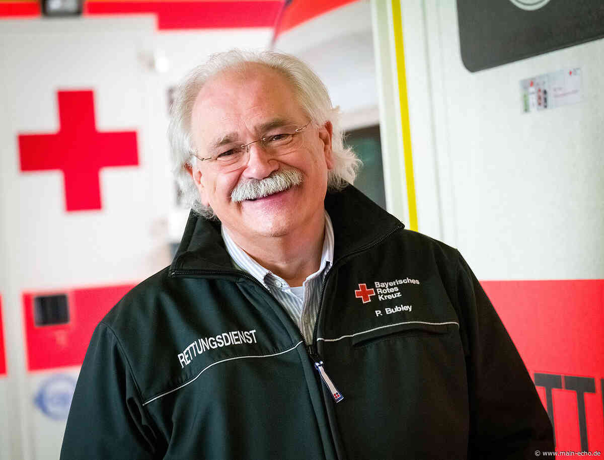 25 Jahre als Leiter Rettungsdienst in Aschaffenburg: Peter Bubley geht in den Ruhestand - Main-Echo