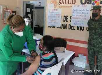 Llegan las vacunas contra covid-19 a San Juan del Rio, donde un baile detonó el contagio - TV BUS Canal de comunicación urbana