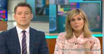 Kate Garraway says she's not allowed to see husband Derek in hospital