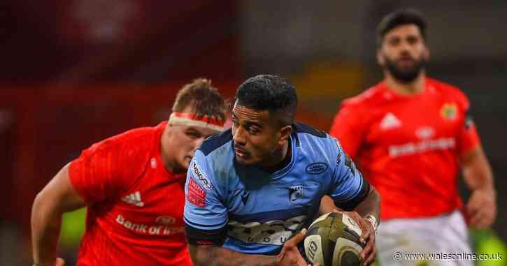 Cardiff Blues v Munster Live updates
