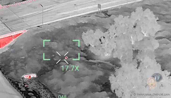 Drone Used To Capture Arson Suspect In Spree Of Irvine Brush Fires