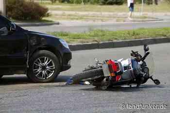 Philippsburg | Motorradfahrer bei Unfall schwer verletzt - Landfunker