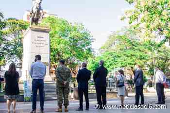 Posadas rindió homenaje al General San Martin por el 243er aniversario de su natalicio - Noticiasdel6.com