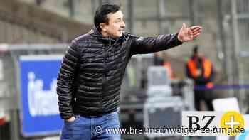 Eintracht-Trainer Daniel Meyer: Das Puzzle wird langsam fertig