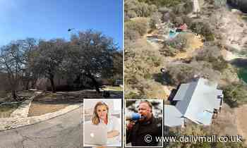Conspiracy theorist Alex Jones taunts his wife by circling her home in a helicopter