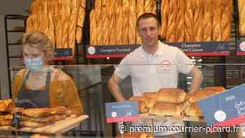 Mickaël Follet, à la baguette de la maison du pain à Montdidier - Courrier picard