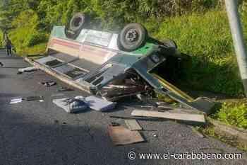 25 heridos dejó vuelco de autobús en Caripito - El Carabobeño