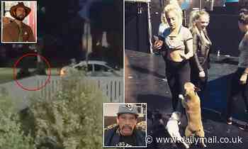 Lady Gaga's dog walker is in a stable condition and breathing on his own