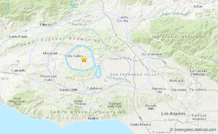 Small Earthquake Rattles Simi Valley