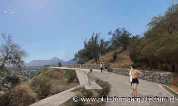 Monte Trenzado, la propuesta finalista de Cristián Boza Wilson para el Parque Observatorio Cerro Calán - Plataforma Arquitectura