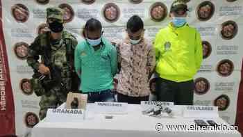 Capturan a presunto jefe de sicarios y a su escolta en Montelíbano - EL HERALDO