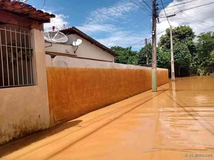 Nível do rio Carangola começa a baixar em Porciúncula e Natividade, no RJ - G1