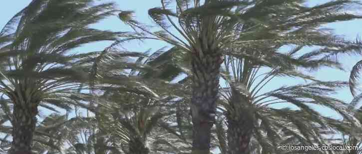 High Winds Returning To LA Area Starting Friday Afternoon