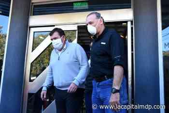 Montenegro y Berni evaluaron reforzar la policía en la ciudad - La Capital de Mar del Plata