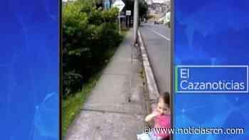 El Cazanoticias: peligroso paso en una avenida en Montenegro, Quindío - Noticias RCN
