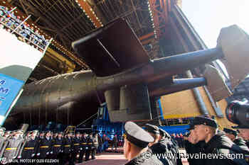 Russia's Project 09852 Special Mission Submarine 'Belgorod' Prepared for Sea Trials - Naval News