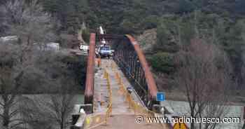 El puente de Santa Eulalia de Gállego se reabrirá este viernes - Radio Huesca