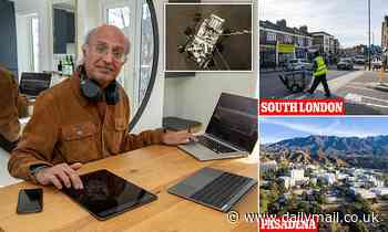 How a NASA scientists is working from home in LEWISHAM