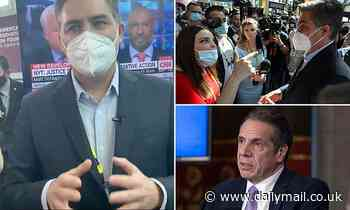 Jim Acosta is heckled by conservative journalist at CPAC over the network's coverage of Cuomo