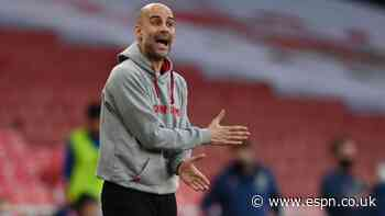 Guardiola: I shout too much at Man City players