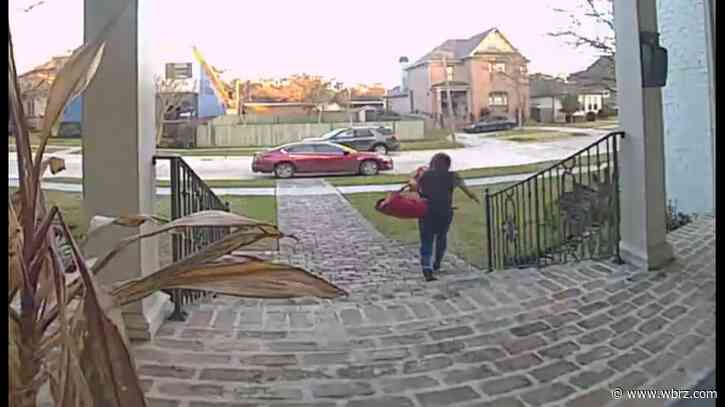 VIDEO: Thief takes food delivery driver's car in broad daylight