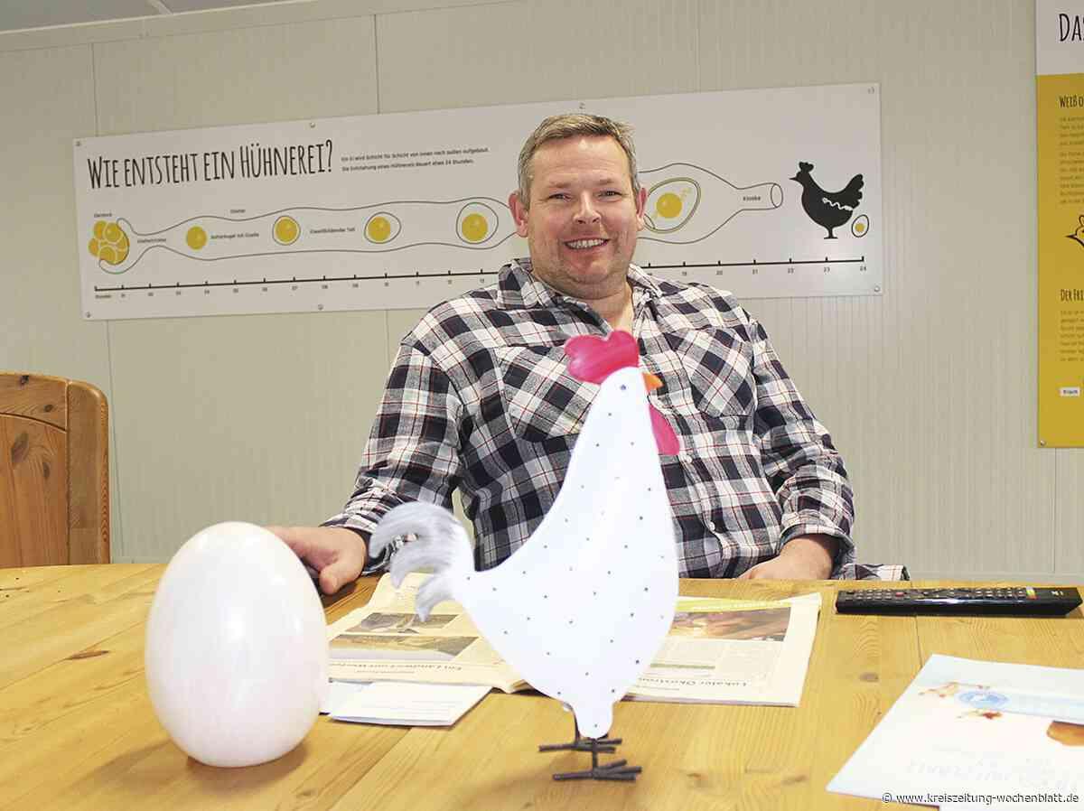 Tolle Erfahrung für Oliver Holtermann aus Harsefeld: Landwirt freut sich über die Verbrauchernähe - Kreiszeitung Wochenblatt