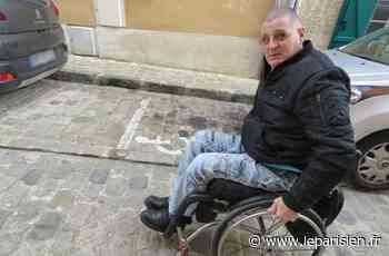 Luzarches : sur les pavés, le cri d'alarme d'un conseiller municipal paraplégique - Le Parisien