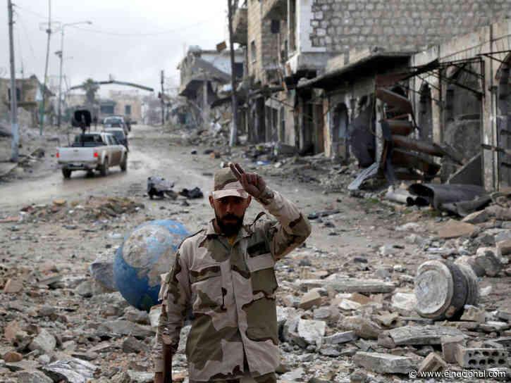Milicia iraquí amenazó con responder a bombardeo de EE UU en Siria