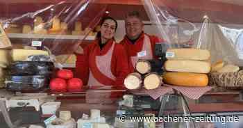 Der Wochenmarkt in Geilenkirchen: Lange Tradition und neue Produkte - Aachener Zeitung