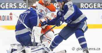 Oilers and Leafs set for key 3-game series atop North Division