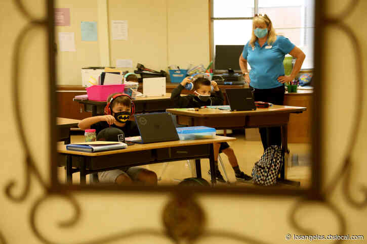 LA Teachers: 'No Current Plans' To Reopen Schools