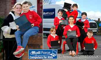 Mail's readers deserve medals! One father's verdict as children rejoice at Mail Force laptops