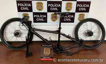 Polícia Civil de Itatinga recupera bicicleta furtada esta semana   Jornal Acontece Botucatu - Acontece Botucatu