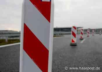 A1: Einrichtung mehrerer Baustellen zwischen Lohne/Dinklage und Bramsche   hasepost.de - HASEPOST