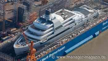 """Lloyd-Werft enthüllt """"Solaris"""": Ist das die neue Yacht von Roman Abramowitsch? - manager magazin"""