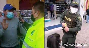 Policía le quitó plante a vendedor ambulante; aunque les lloró lo dejaron sin nada - Pulzo.com