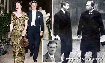 The day 'half-demented' King Edward VIII flung books at the Prime Minister